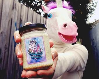 Unicorns & Rainbows - Jam Jar Candle