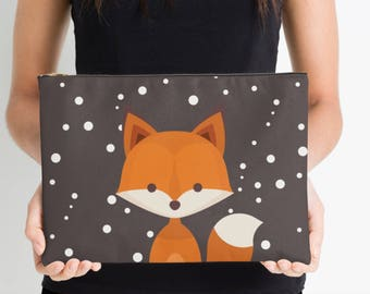 Wild Fox Nappy Pouch, Nappy Pouch, Nappy Wallet, Diaper Case, Toiletry Bag, Nappy Clutch, Baby Change Wallet, Nappy Bag, Studio Pouch