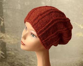 Slouch Beanie Hat / Knit Hat / Women's Hat / Slouchy Hat / Hand Knit Hat / Knit Hat Women / Knit Hat Women / Winter Accessories