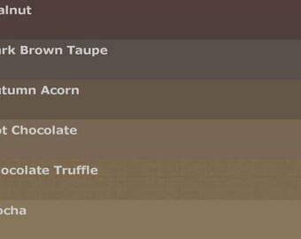 Brown SANDED Grout Variety Pack - 6 Colors - 3 Pounds for Walls, Floors, Counter Tops, Backsplashes, Tubs, Showers, Mosaics