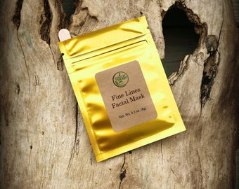 Anti aging - Face Mask for mature skin - Anti Aging Products - Mothers day gift - Face mask sample - Gift basket ideas - Touch of herbs