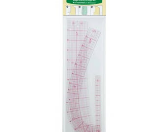Clover Curve Ruler With Mini Ruler Part No. 7006