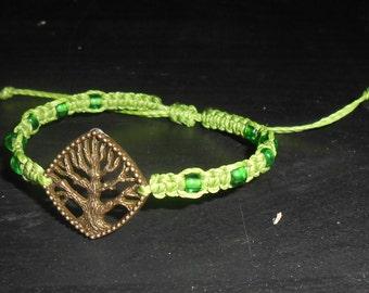 "Macramee Bracelet ""Tree"""
