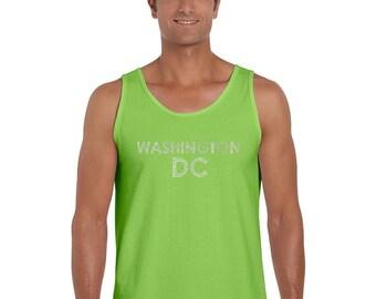Men's Tank Top - WASHINGTON DC NEIGHBORHOODS