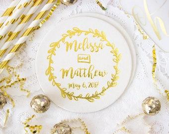 Wedding Coaster, Personalized Coasters, Custom Coaster, Drink Coaster, Bar Coaster, Wedding Favors, Corporate Coaster, Business Coaster