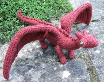 Dragonet Amigurumi Pattern PDF - Crochet Pattern