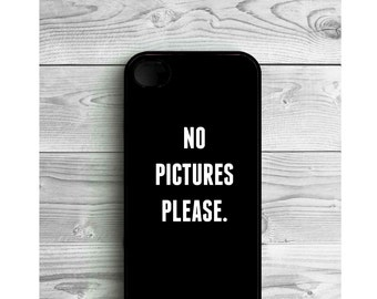 Phone Case Quote No Pictures For iPhone 4/4S, iPhone 5/5S, iPhone 5c, iPhone 6, iPhone 7, Galaxy S4, S5, S6, S6 EDGE, Note 3 & Note 4