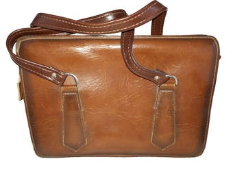 Bag imitation leather briefcase