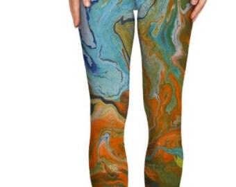 Fluid Art Leggings