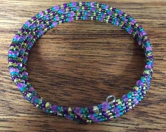 Party Memory Wire Bracelet