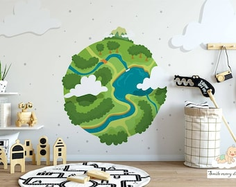 Wallpaper for kids Earth