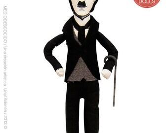 Charles Chaplin / Art Doll, Figure Writer, OBJET