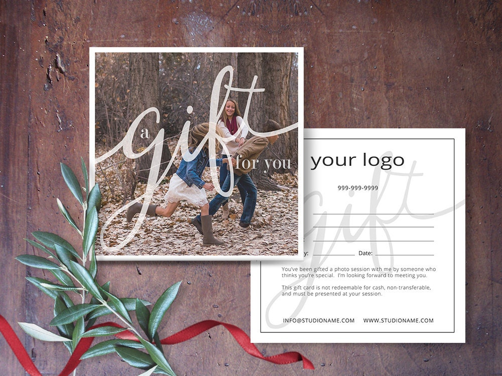 Gift certificate photography gift certificate template zoom yadclub Images