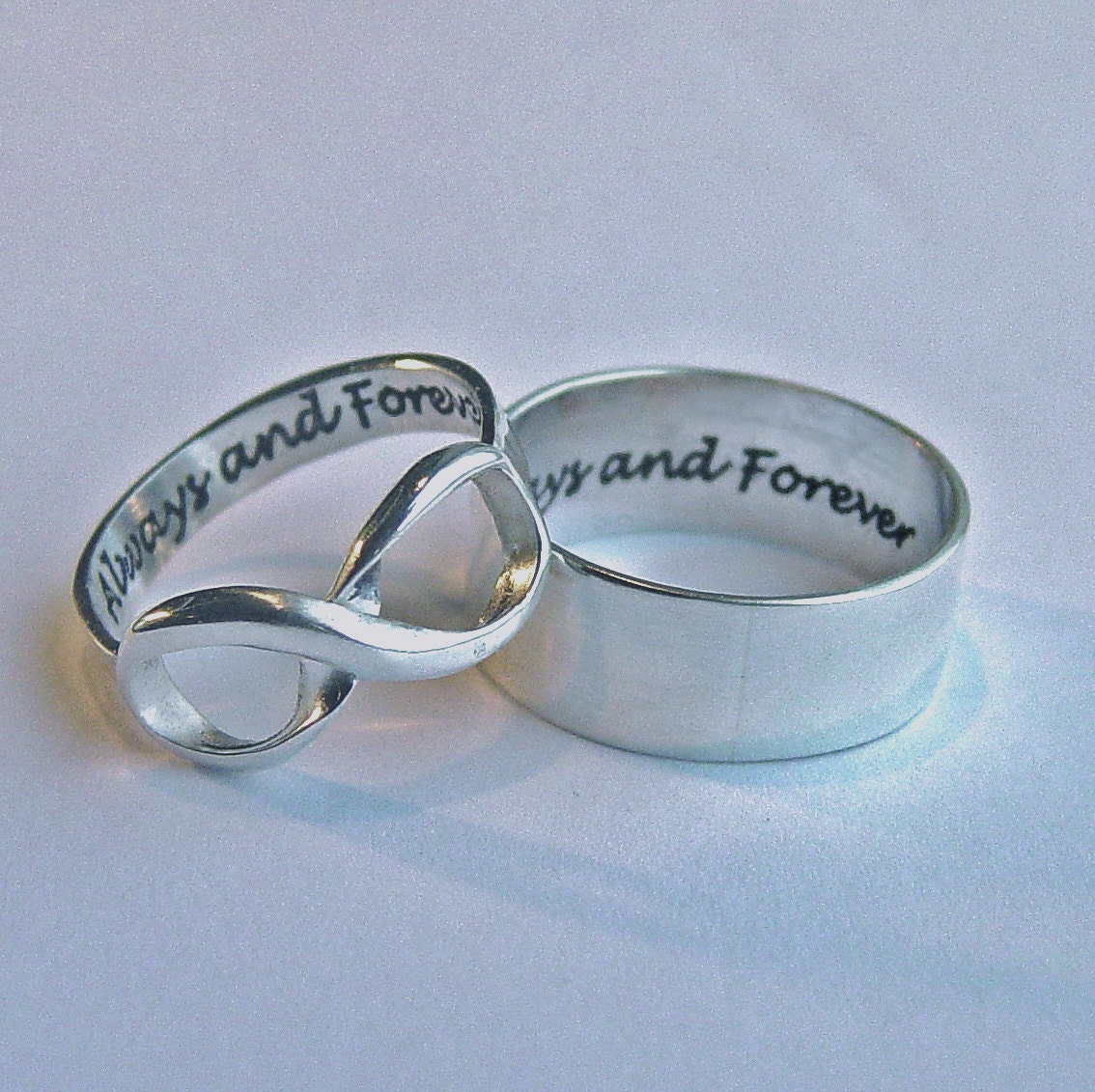 rings customized ring engagement wedding printed