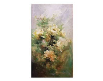 Flora Painting - Sweet Dreams - Oil Painting Home Decor