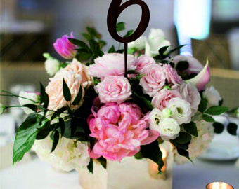 Wooden Table Numbers, Wedding Table Numbers, Laser Cut Numbers, Wedding Decorations, Wooden Decorations, Table Markers