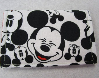 Mickey mouse wallet etsy disney wallet travel business card holder mickey mouse travel wallet disney cruise credit card holder fish extender gifts card wallet colourmoves