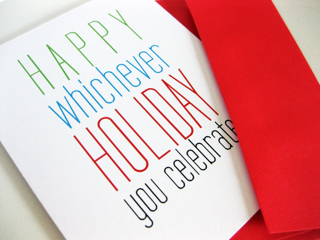 Box Of 8 Funny Holiday Card Any Holiday Snarky Clever Card