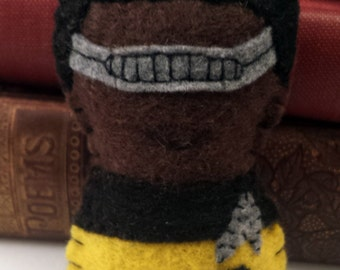 Geordi La Forge - Star Trek TNG plushie (made to order)