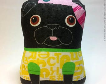 Little Buddy - Small Pug-Guise Plush
