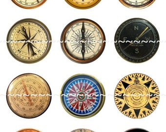 Compasses Magnets Pins Party Favors Wedding Gift Sets Fridge Magnets