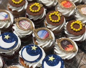 LOCAL ONLY, Ramadan Themed Cupcakes