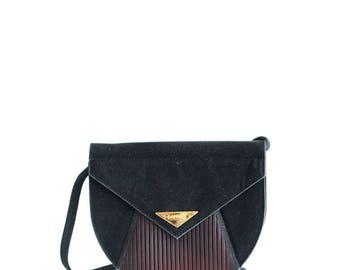 Vintage Lanvin Velvet crossbody bag