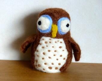 """Boggle-Eyed Owl """"Expresso"""""""