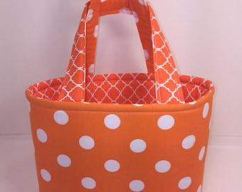 Bible Bag/Small tote/ Orange