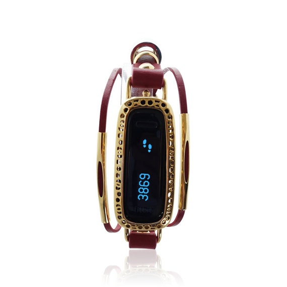 Bracelet LOMA 2 - Fitbit Jewelry - Red/Gold