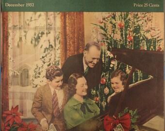 "1937 Music Magazine, ""The Etude Music Magazine""  December 1937"