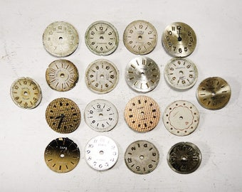 Small Watch Faces - set of 18 - c155