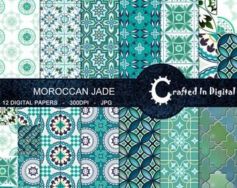 Piastrelle Marocchine Vendita On Line : Mattonelle di arte marocchina etsy