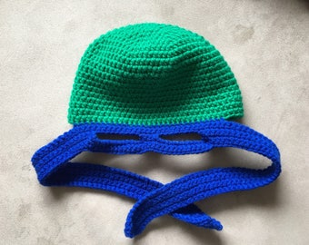 Teenage Mutant Ninja Turtle Hat with Mask