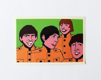 Beatles Postcard