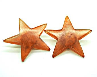 Star clip on earrings non pierced buy costume jewelry earrings clip on clipped to clip on ear clip back earring clips statement clip ons