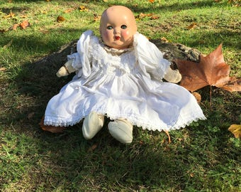 Antique Composition Baby Doll