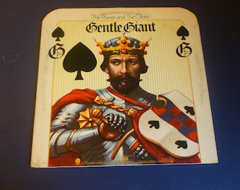 Gentle Giant The Power And The Glory Vinyl Record LP ST-11337 Capital Records 1974