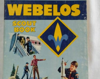 Webelos Scout Book, 1969 Printing, Boy Scouts of America