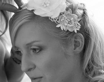 Bridal hair accessories, wedding hair accessories, bridal hairband, hairvine, wedding hairband, handmade hairband, organic