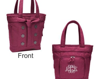 Ogio Melrose Tote, Monogram Tote, Ogio Ladies Melrose Tote, Laptop Bag, Gift for Her, Monogrammed Bag, Monogrammed Gifts, Personalized Gifts