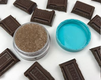 Edible Chocolate Lip Scrub