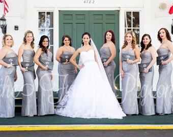 BRIDESMAID CLUTCHES - Bridal Party Bags - Wedding Clutch - Personalized Clutch - Bridesmaid Gift - Wedding Party Gift - Bridal Party Gifts