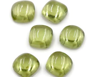 Peridot | Natural Peridot | Peridot Gemstone | Peridot Loose Gemstone | August Birthstone | PERIDOT cushion shape 6mm 1.26ct