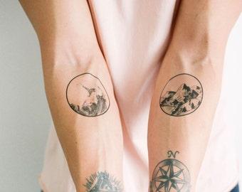 2 Nature Temporary Tattoos- SmashTat