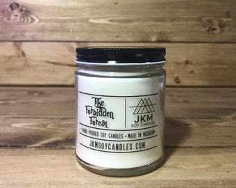 The Forbidden Forest 9oz Soy Candle - Classic Collection
