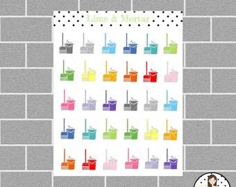 Mop Mini Icon Planner Stickers