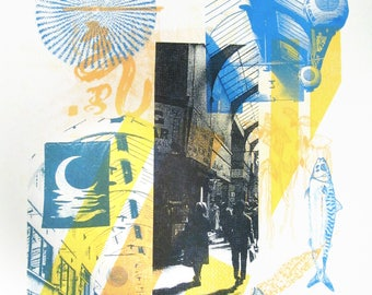 Brixton Village Limited Edition Screen Print