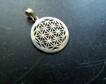 Pendant, Flower of life, flower of life, sacred geometry, silver 925, amulet