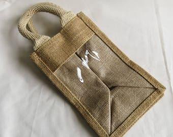 Gift bags etsy uk hessian giftbag gift bag negle Images